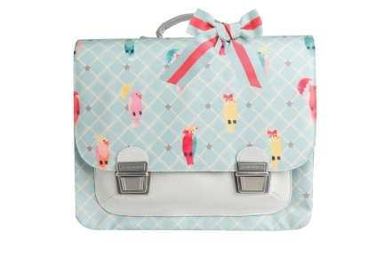 Jeune Premier boekentas it Bag MIDI posh parrots