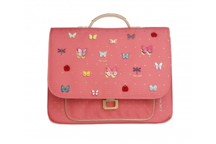 IT bag mini butterfly pink