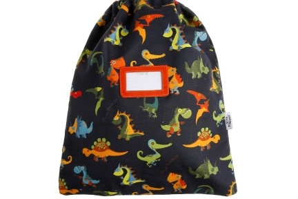 kidsbag blue dino