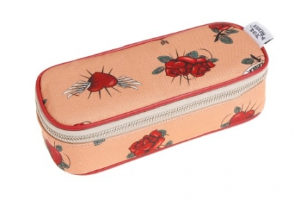 Jeune Premier pencil box rose tattoo