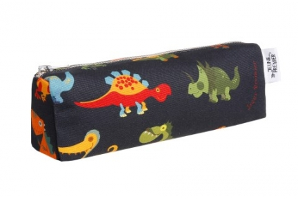 pencil case blue dino