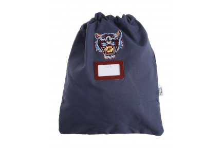 kidsbag tiger navy