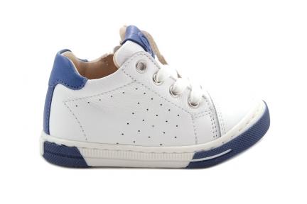 Luca sneaker wit blauw