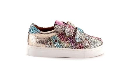 Sneaker Glitter Velcro