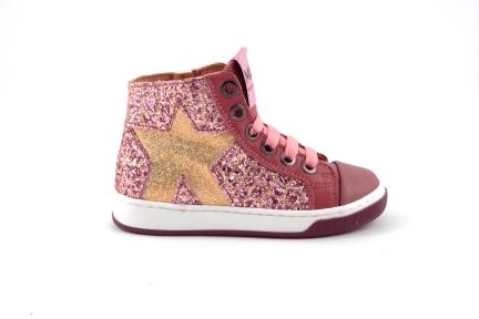 sneaker gltter roze roze leder tinten