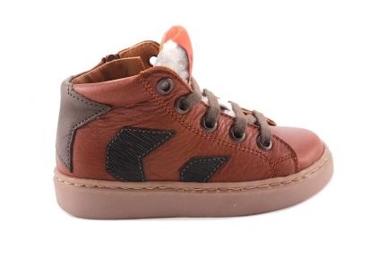 Sneaker Bruin  2 Streepjes