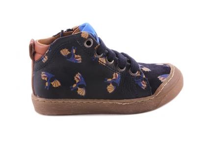 Sneaker Dino Vleugel Blauw  Crosta Tip
