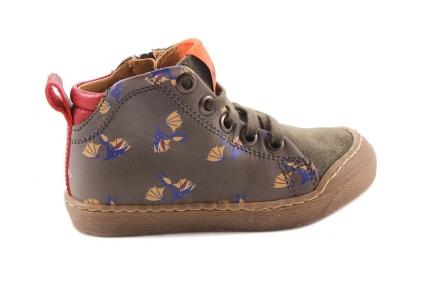 Sneaker Dino Vleugel Kaki Crosta Tip