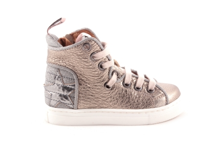 Sneaker Goud Zilver Ster Achteraan