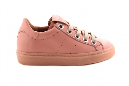 Sneaker Laag Roze Leder