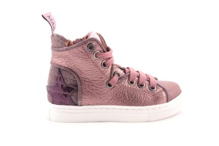 Sneaker Oudroze Ster Achteraan