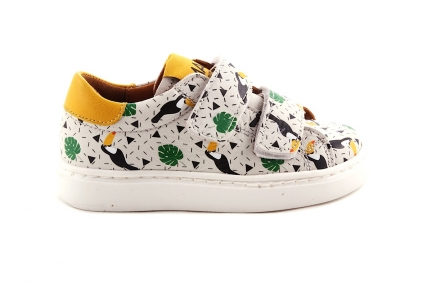 Sneaker Velcro Laag Toekan