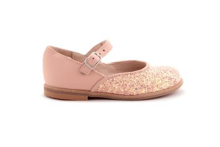 Schoen Gesp Glitter Roze