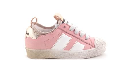 Sneaker Roze Met Rubber Tip Veter