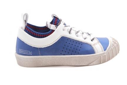 Sneaker Blauw Kous
