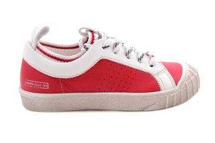 Sneaker Rood Kous