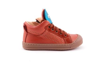 sneaker smiley oranjebruin