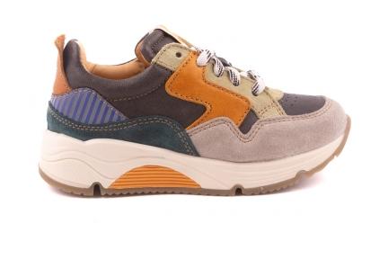 Sneaker Runner Grijs/blauw