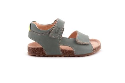 Sandaal  Velcro Kaki