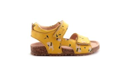 Sandaal Velcro Haai Geel
