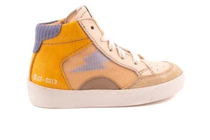 Sneaker Hoog Bliksem Oker