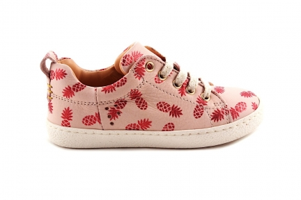 Sneaker Ananas Roze Laag