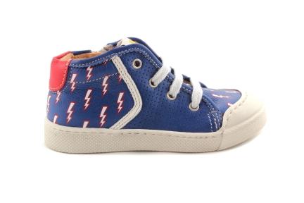 Sneaker Sportief Blauw Bliksem
