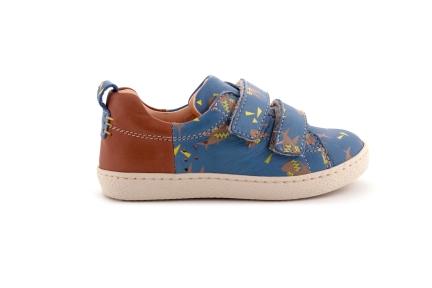 Sneaker  Laag Velcro Haai Blauw