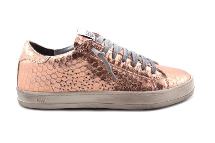 P448 sneaker roze metallic