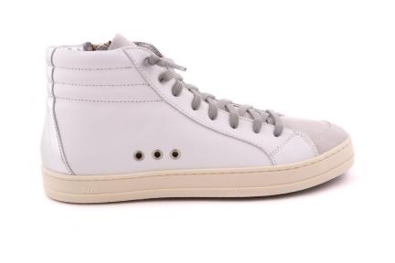 Sneaker Hoge Basket Skate Zilver Achter