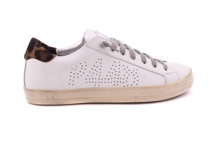 Sneaker Lage Sneaker Leopard Achter
