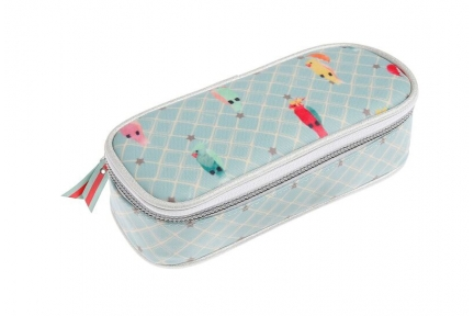 Jeune Premier pencil box posh parrots