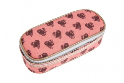Jeune Premier pencil box lady dog