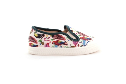 Sneaker loafer tropical