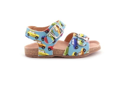 Sandaal autootjes
