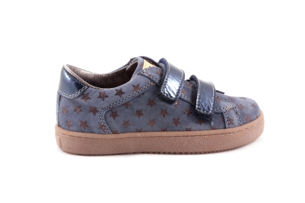 Sneaker Velcro Laag Sterretjes Blauw