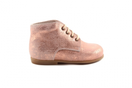 Veterschoen Roze Metallic