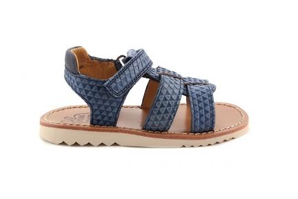 Sandaal Driehoekjes Blauw
