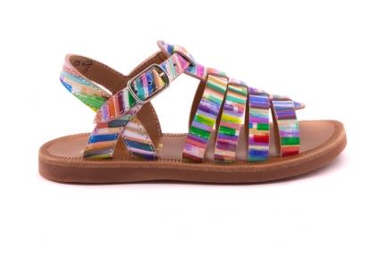 Sandaal Gladiator Multicolor