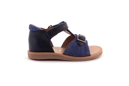 Sandaal Blauw Gespje