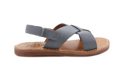 Sandaal Gekruist Jeans