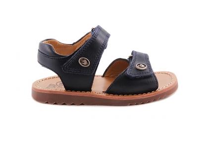 Sandaal Open Hiel En Tip Blauw