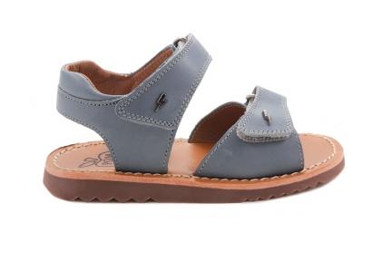 Sandaal Open Hiel En Tip Jeans