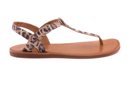 Sandaal Leopard  Teenslipper