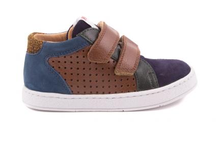 Sneaker Velcro Multicolor Blauw