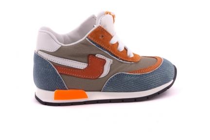 Sneaker Cognac En Mintjeans Runner
