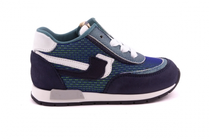 Sneaker Blauw Met Mintjeans Blauw Met Mintjeans