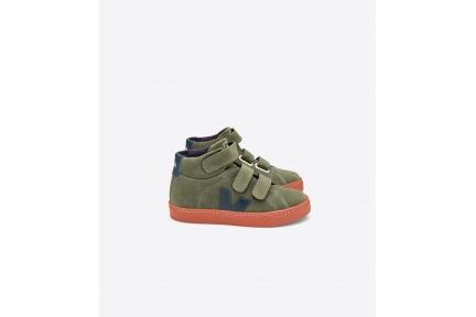 Sneaker Hoog Kaki