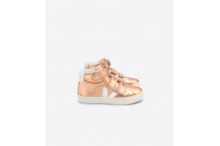 Sneaker Hoog Roze Metallic