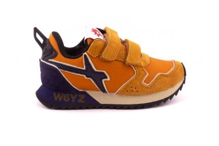 Sneaker Velcro Okergeel